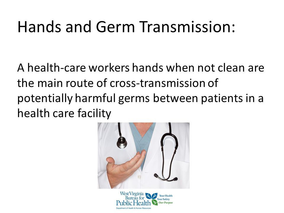 Hands and Germ Transmission: