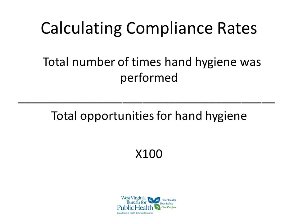 Calculating Compliance Rates