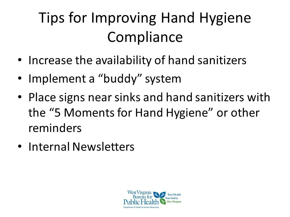 Tips for Improving Hand Hygiene Compliance