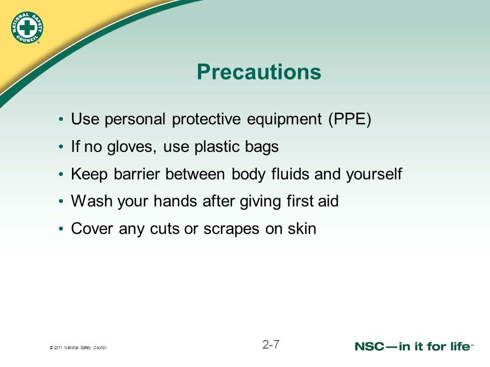 Precautions Use personal protective equipment (PPE)