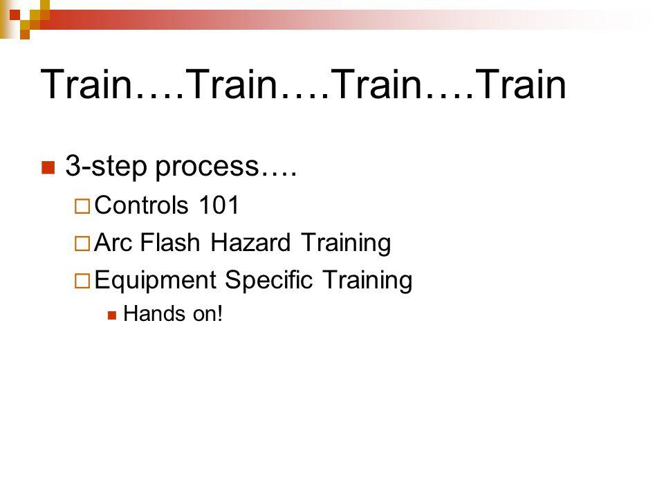 Train….Train….Train….Train