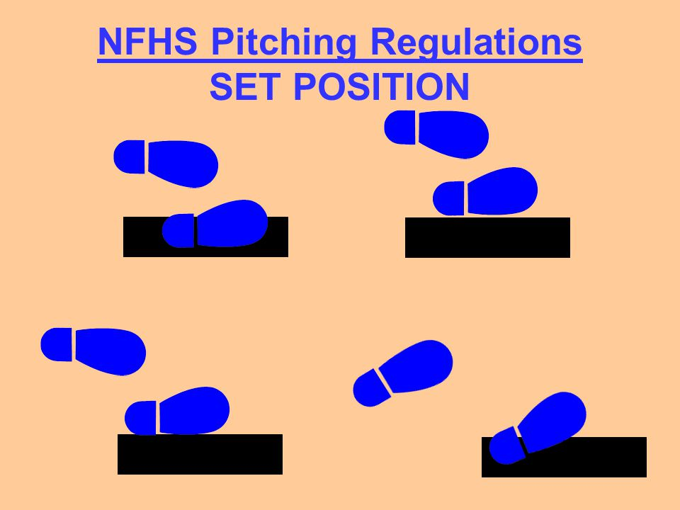 NFHS Pitching Regulations SET POSITION