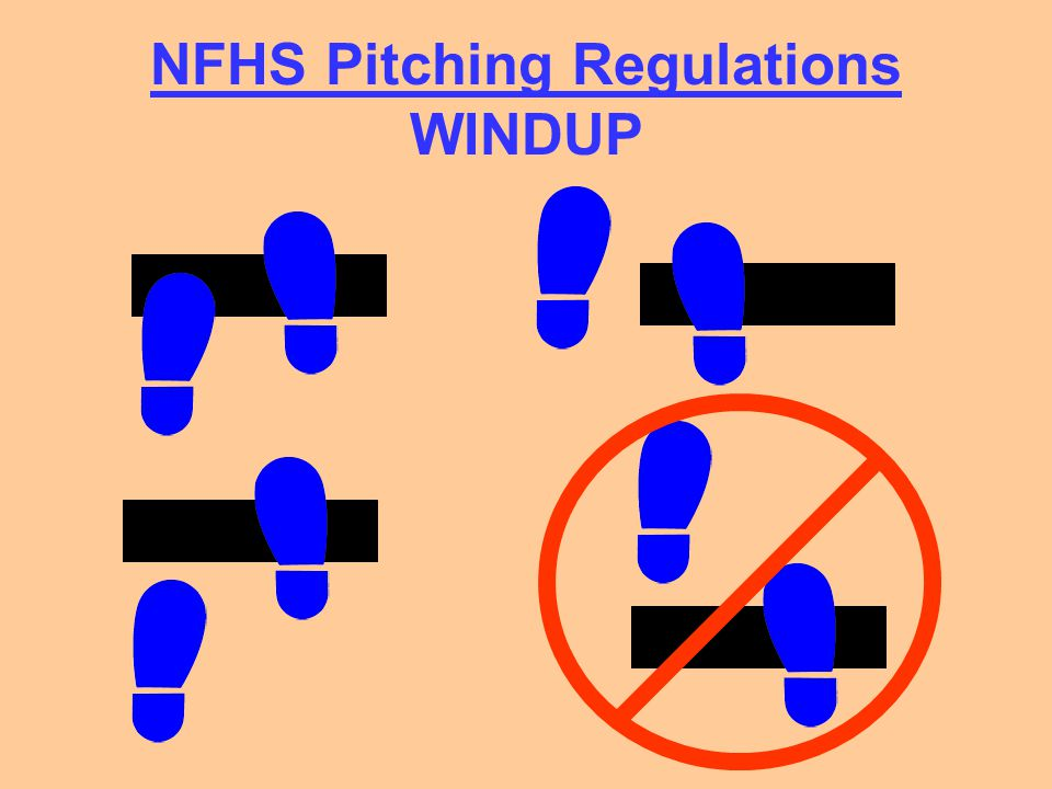 NFHS Pitching Regulations WINDUP