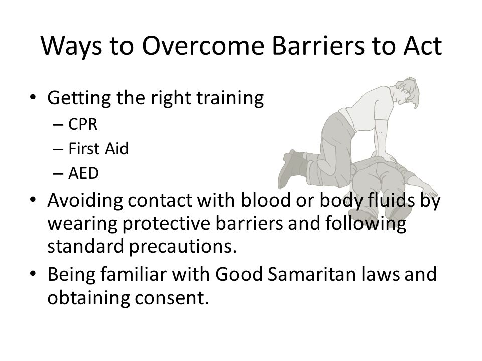 Ways to Overcome Barriers to Act