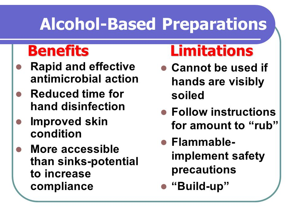 Alcohol-Based Preparations