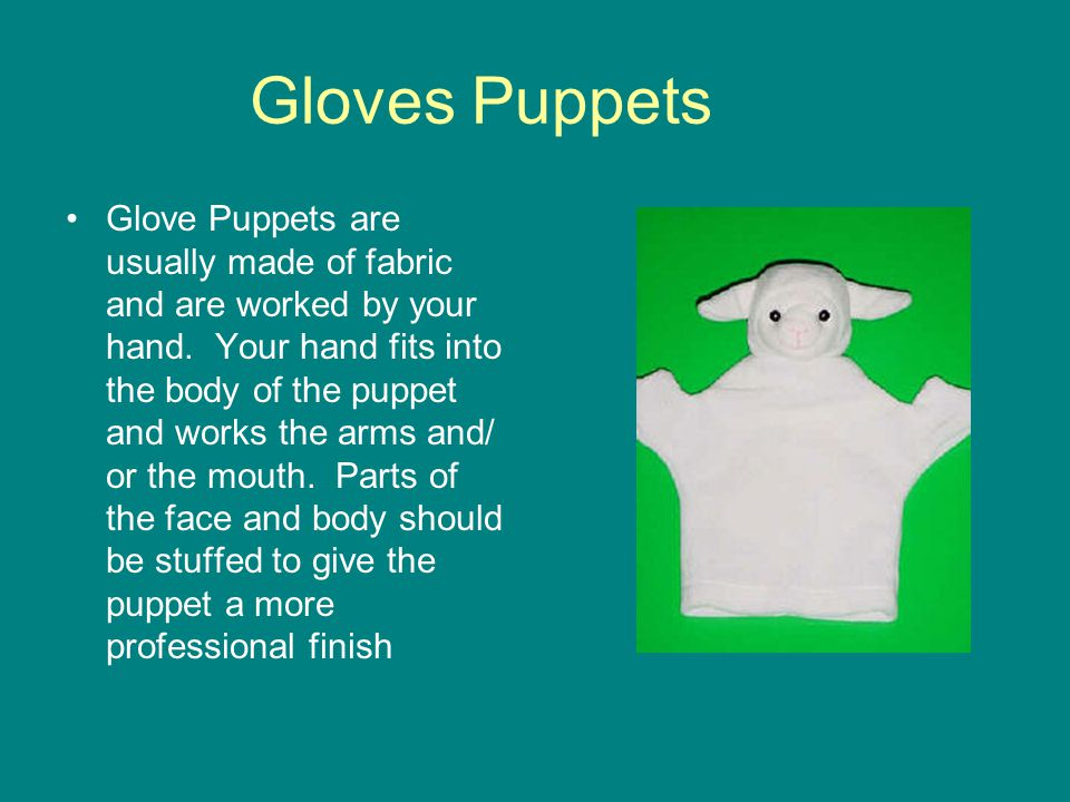 Gloves Puppets