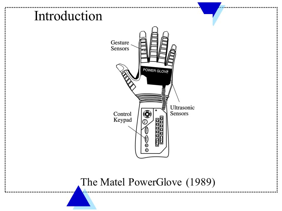 Introduction The Matel PowerGlove (1989)