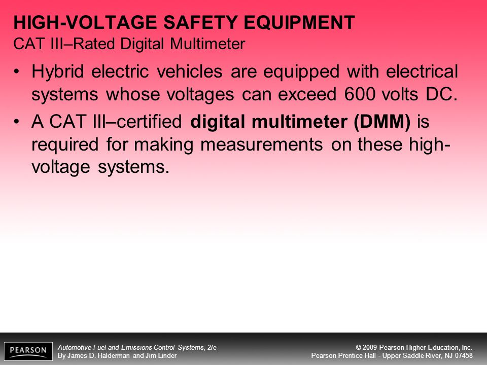 HIGH-VOLTAGE SAFETY EQUIPMENT CAT III–Rated Digital Multimeter