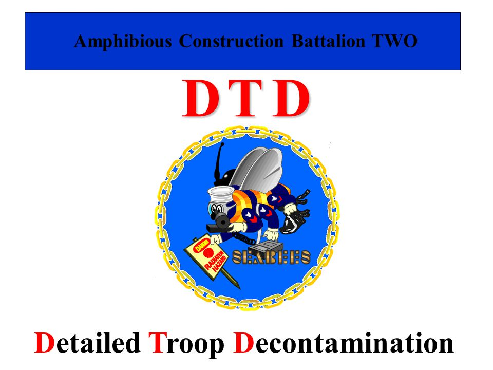D T D Detailed Troop Decontamination