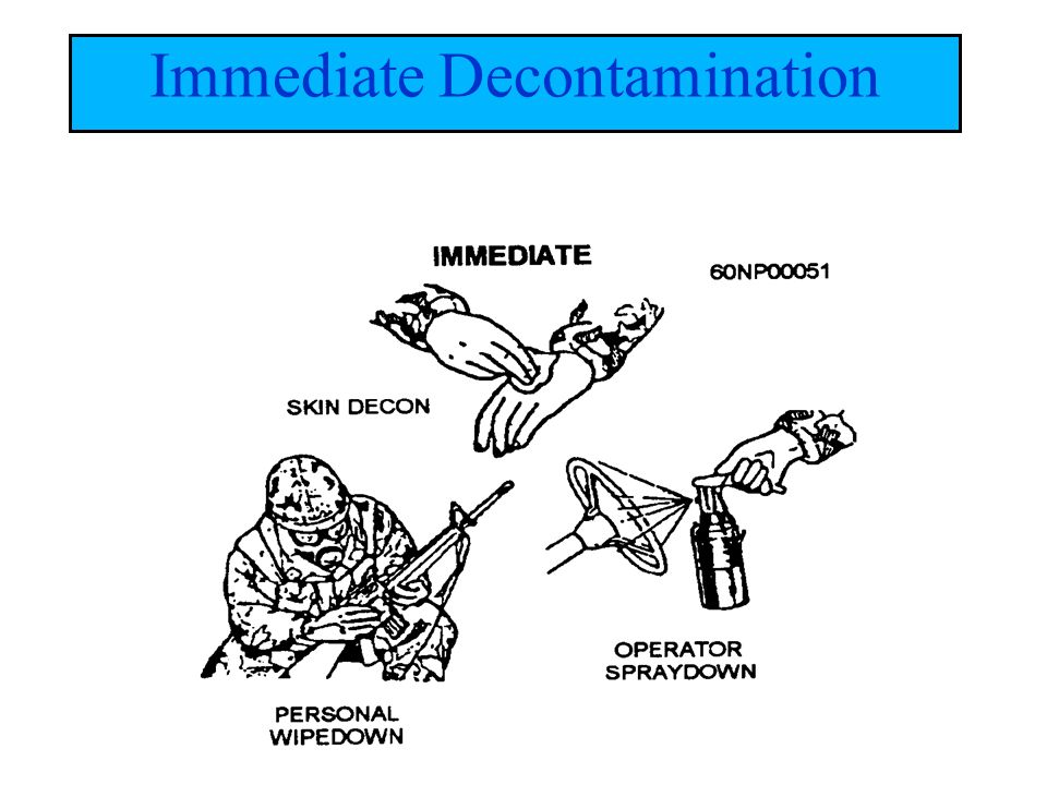 Immediate Decontamination