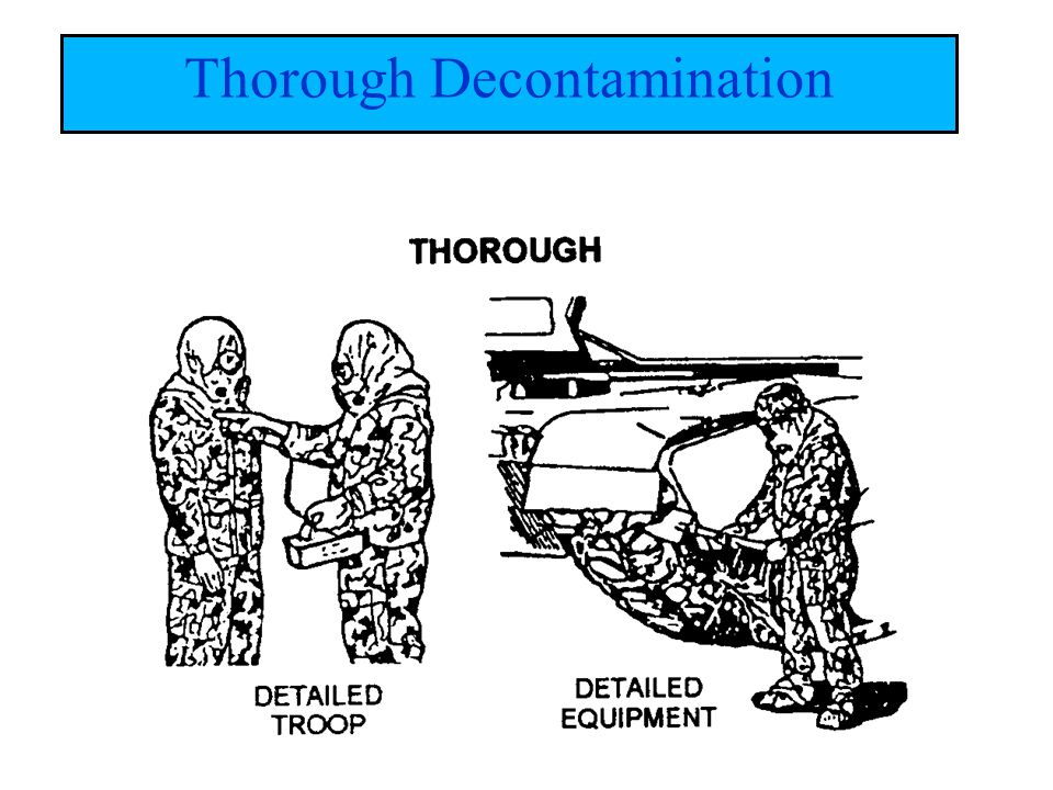 Thorough Decontamination