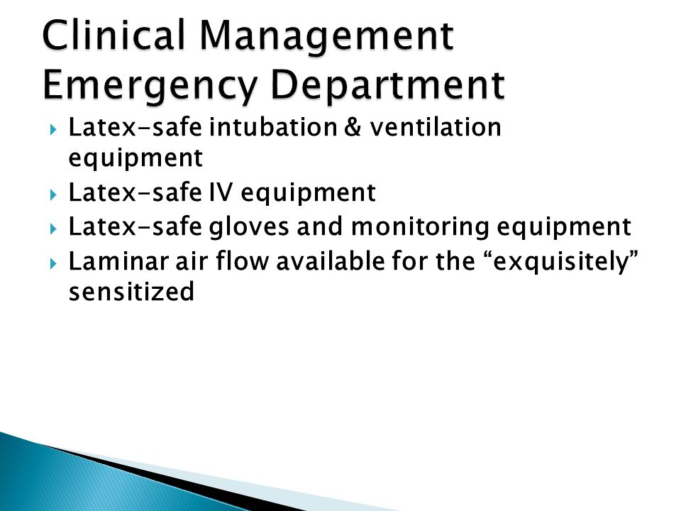 Clinical Management Emergency Department