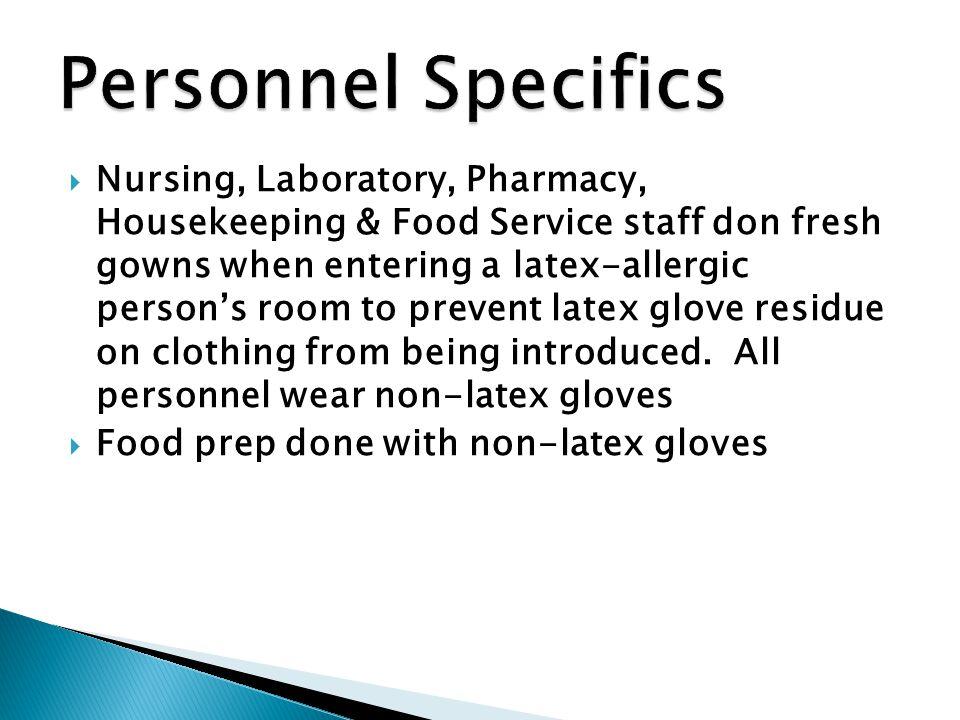 Personnel Specifics