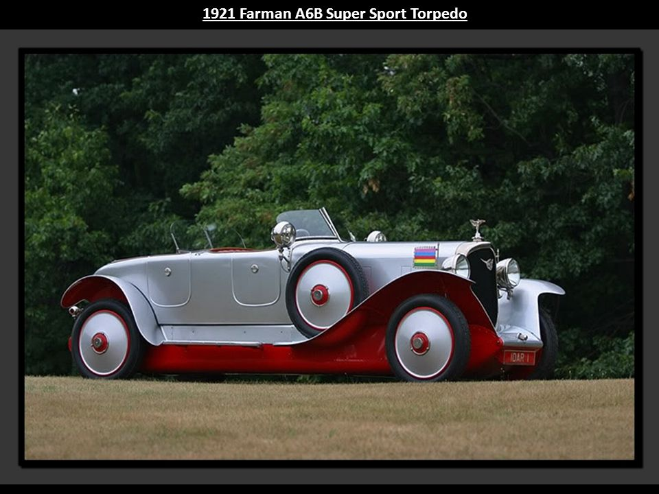 1921 Farman A6B Super Sport Torpedo