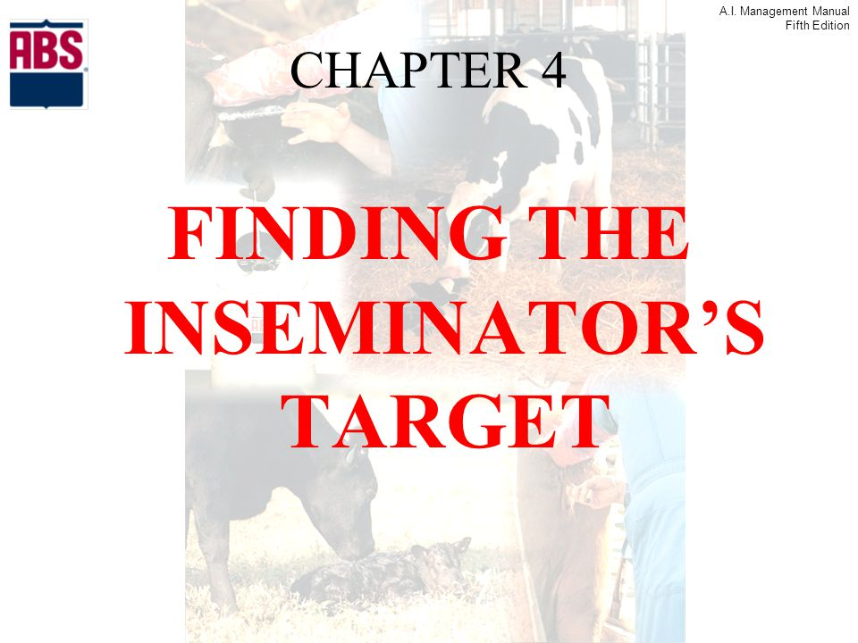 FINDING THE INSEMINATOR'S TARGET