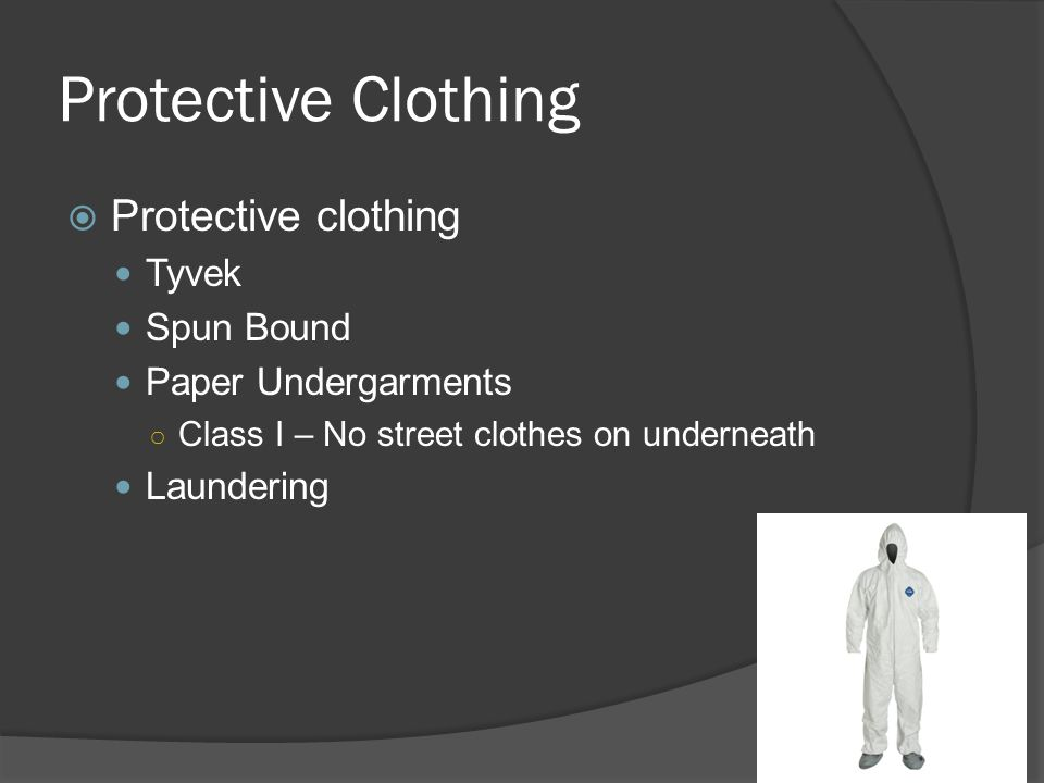 Protective Clothing Protective clothing Tyvek Spun Bound