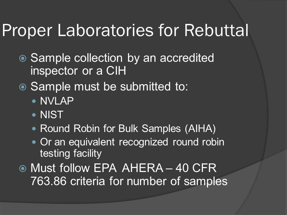 Proper Laboratories for Rebuttal