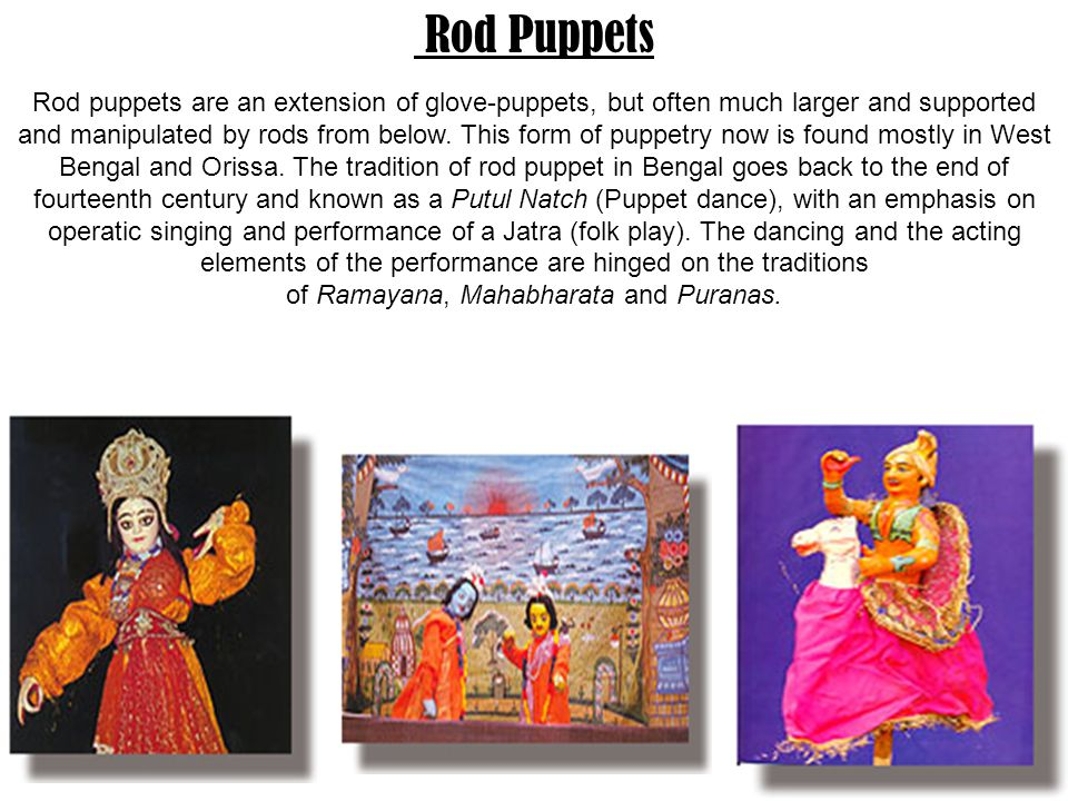 Rod Puppets