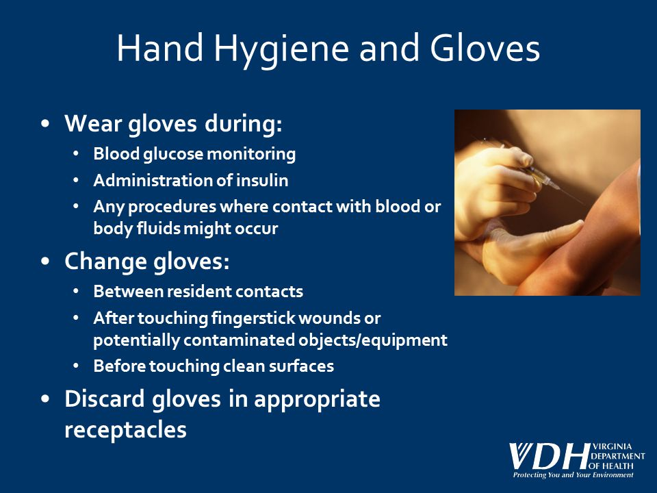 Hand Hygiene and Gloves