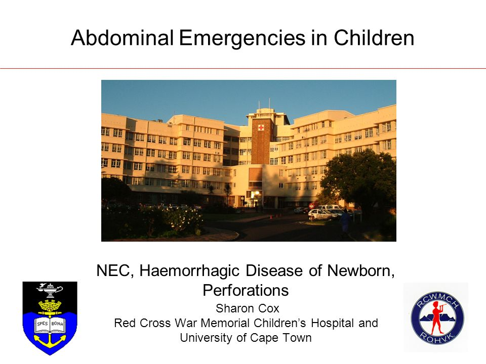 Abdominal Emergencies in Children