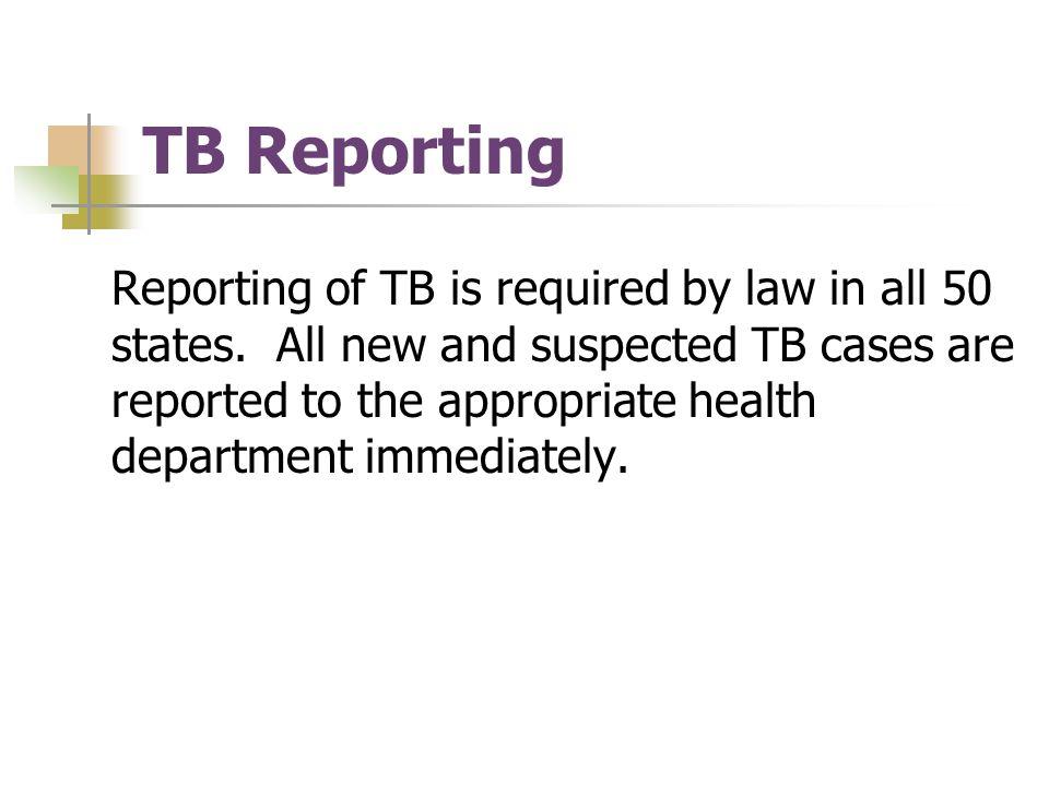 TB Reporting