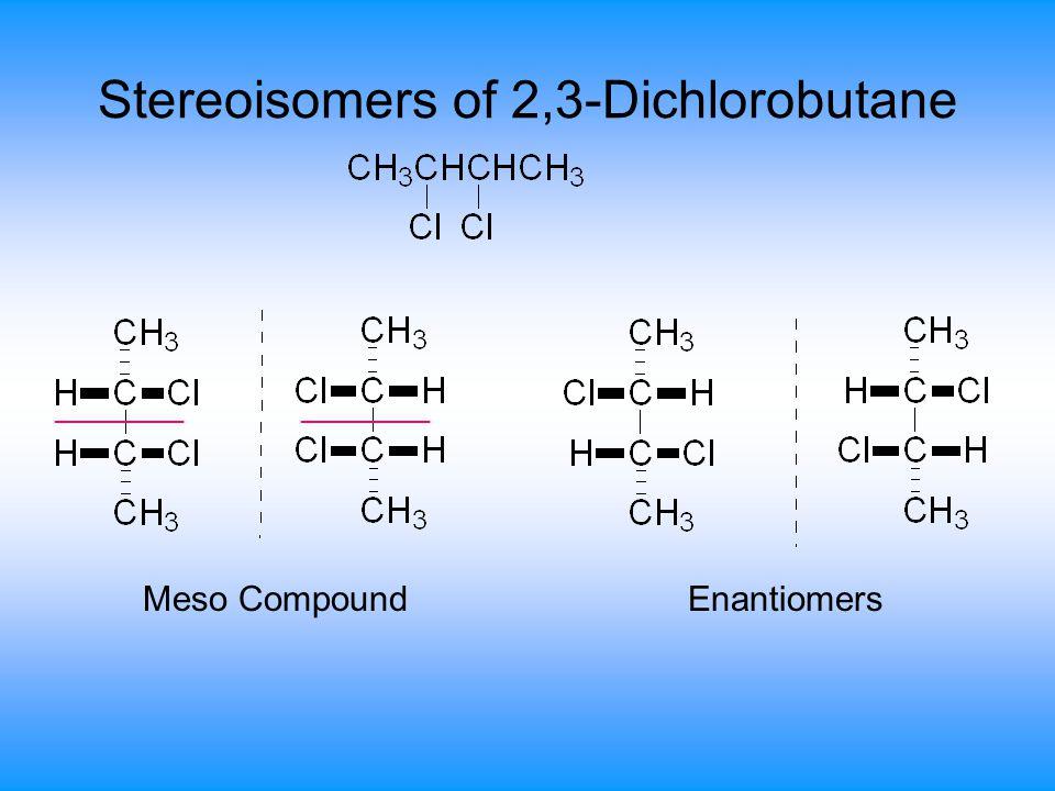 Stereoisomers of 2,3-Dichlorobutane