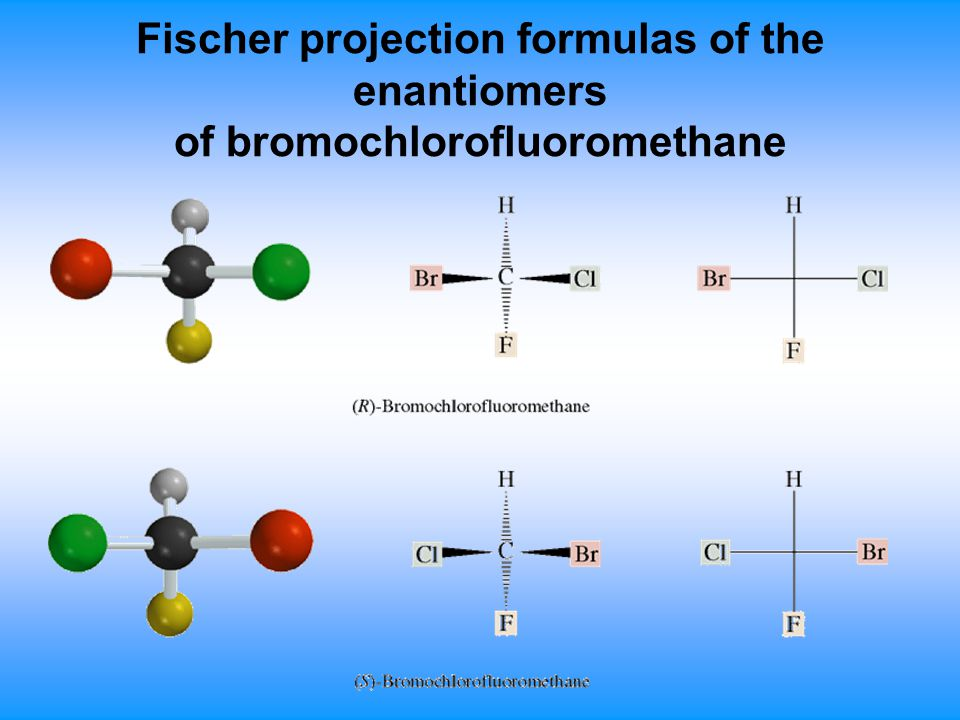 R 2 Chlorobutane Fischer Projection Chapter 7. Ster...