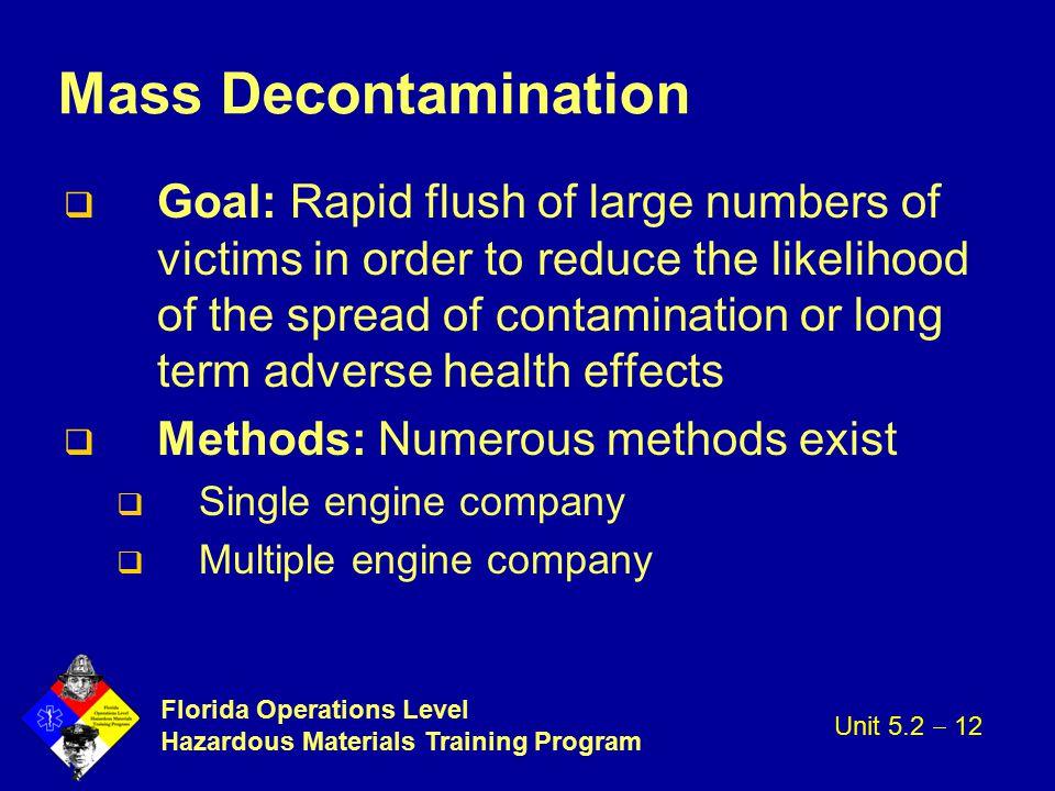 Mass Decontamination