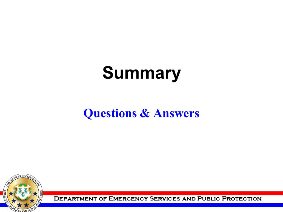 Summary Questions & Answers