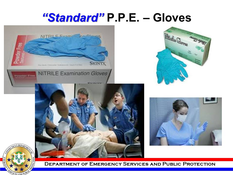 Standard P.P.E. – Gloves