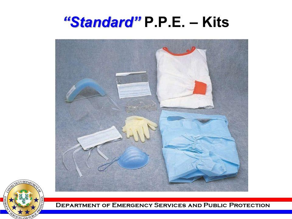 Standard P.P.E. – Kits
