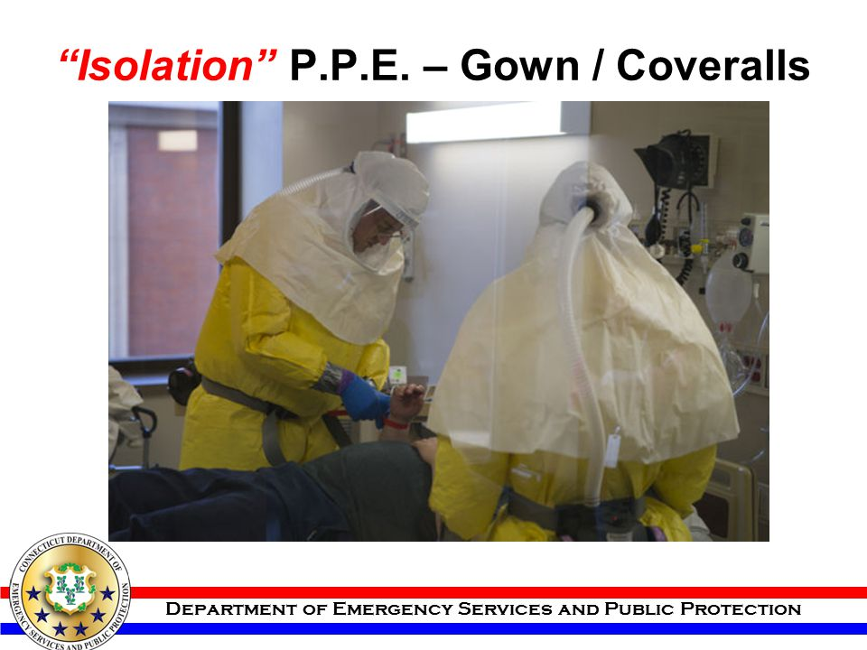 Isolation P.P.E. – Gown / Coveralls