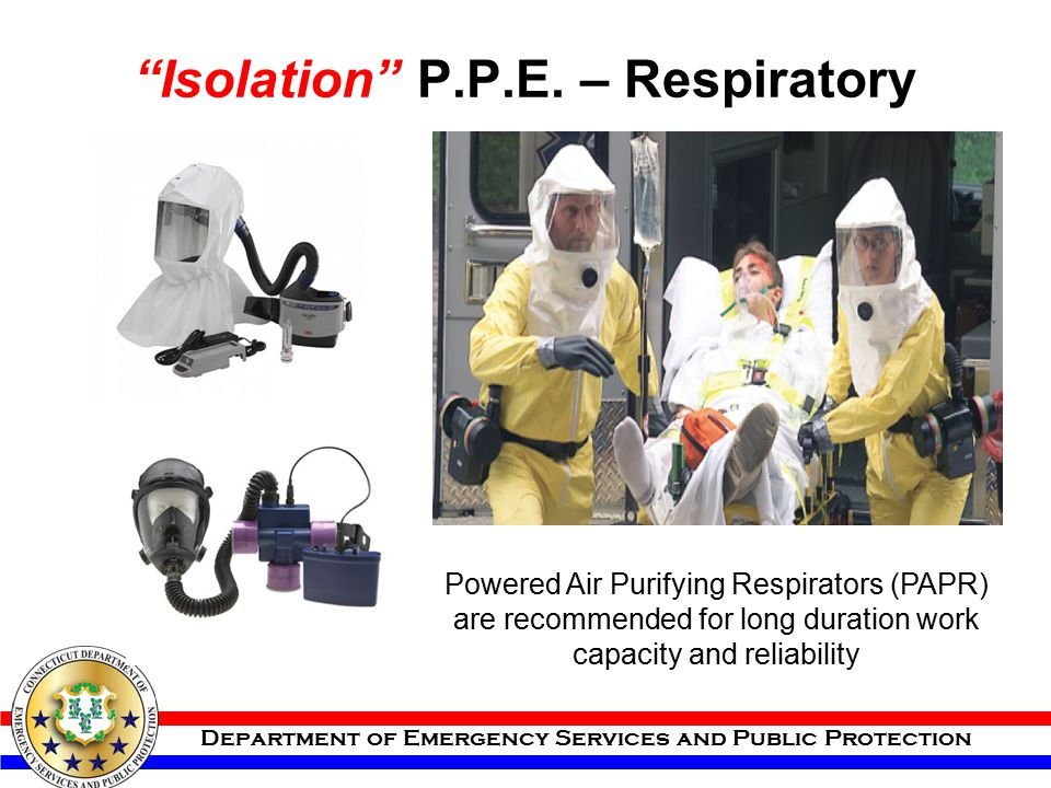 Isolation P.P.E. – Respiratory