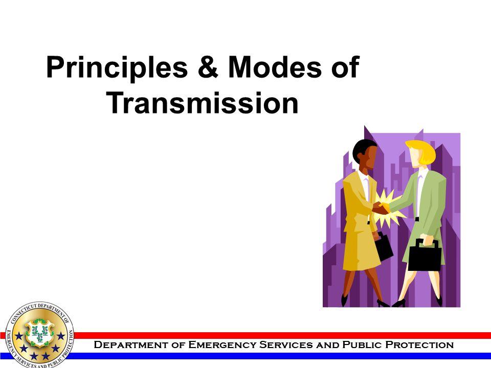 Principles & Modes of Transmission