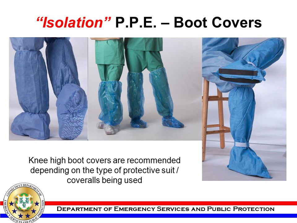 Isolation P.P.E. – Boot Covers