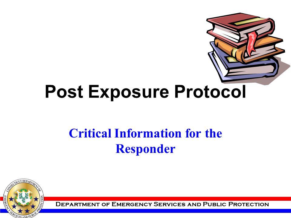 Post Exposure Protocol
