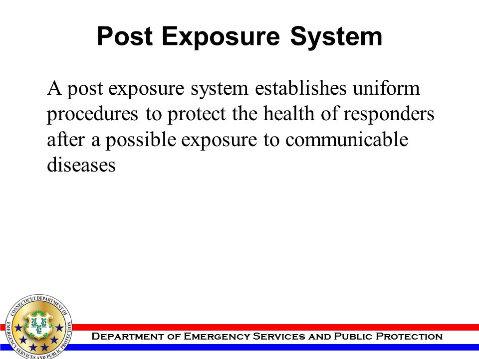 Post Exposure System