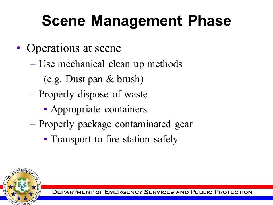 Scene Management Phase