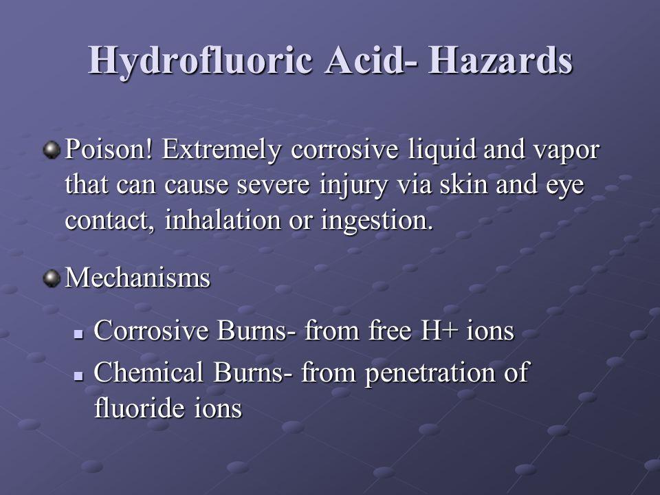 Hydrofluoric Acid- Hazards