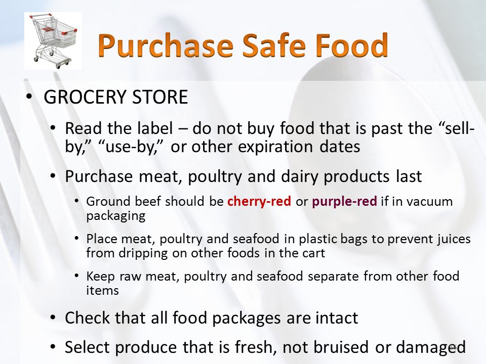 Purchase Safe Food GROCERY STORE
