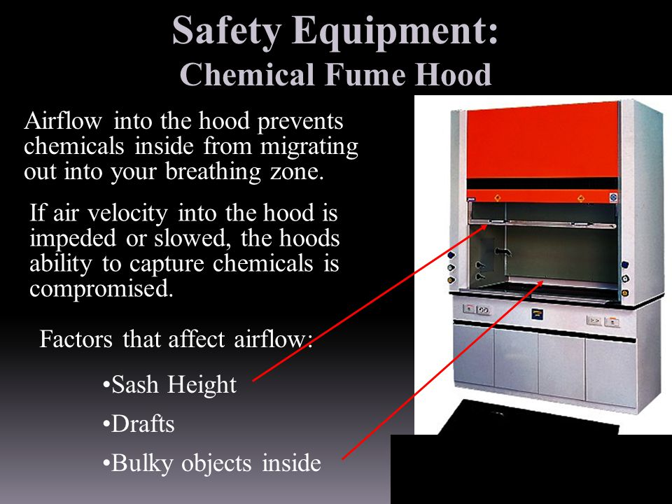 Safety Equipment: Chemical Fume Hood