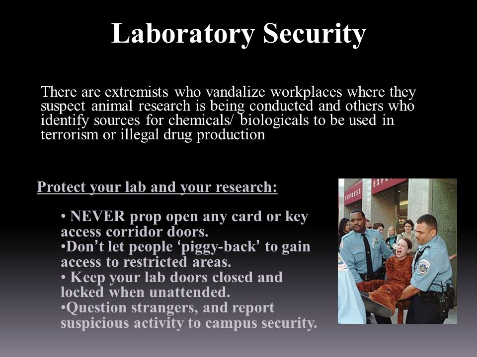 Laboratory Security