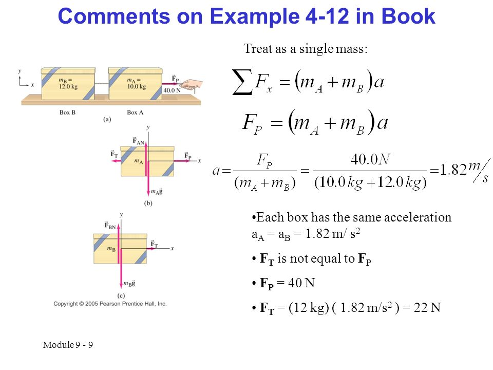 Comments on Example 4-12 in Book