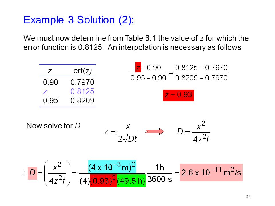Example 3 Solution (2):