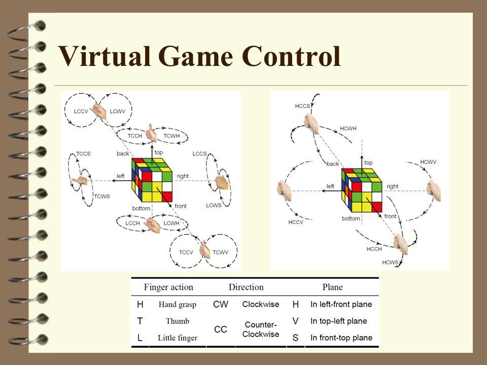Virtual Game Control