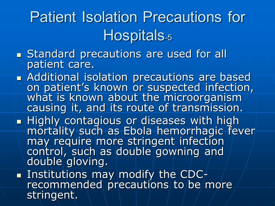 Patient Isolation Precautions for Hospitals-5
