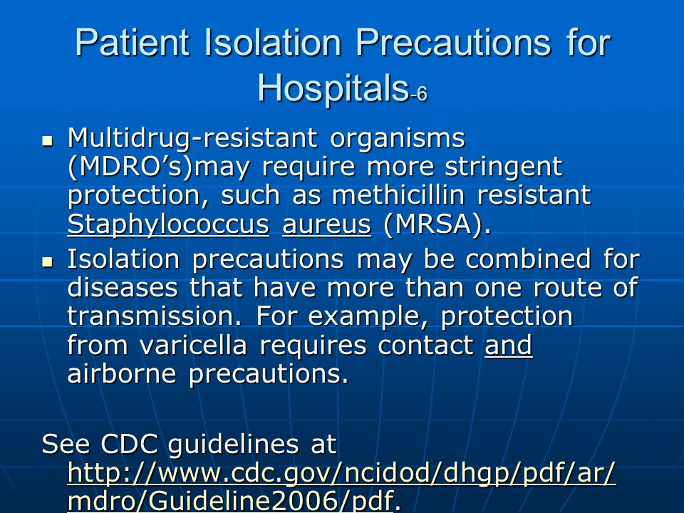 Patient Isolation Precautions for Hospitals-6