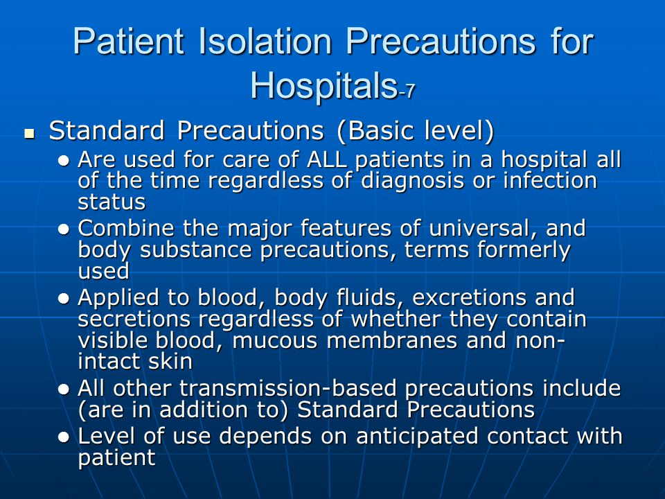 Patient Isolation Precautions for Hospitals-7