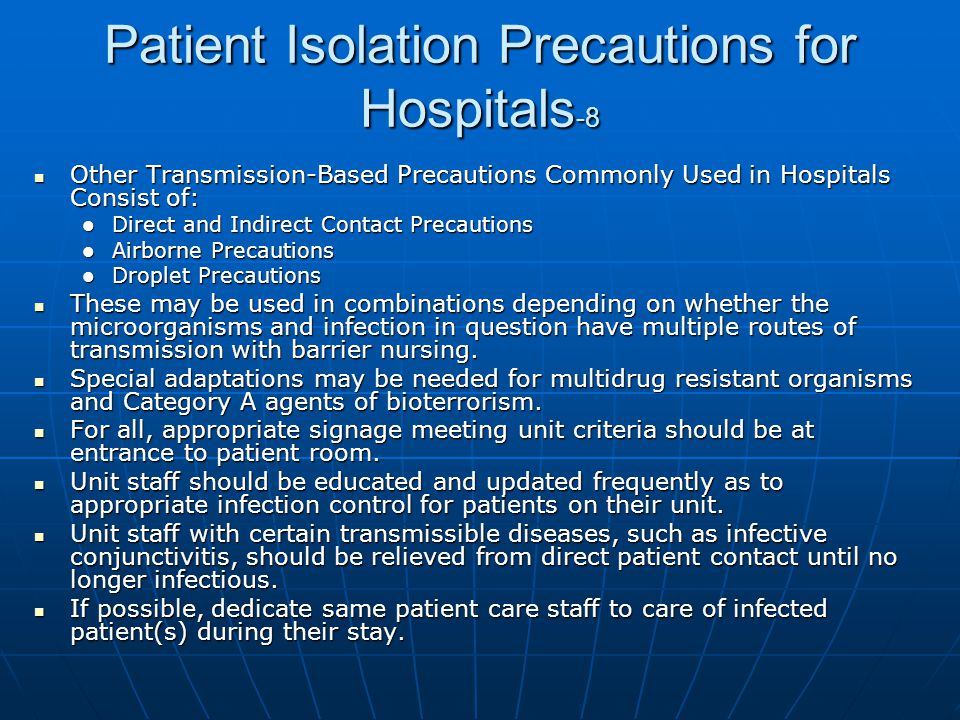 Patient Isolation Precautions for Hospitals-8