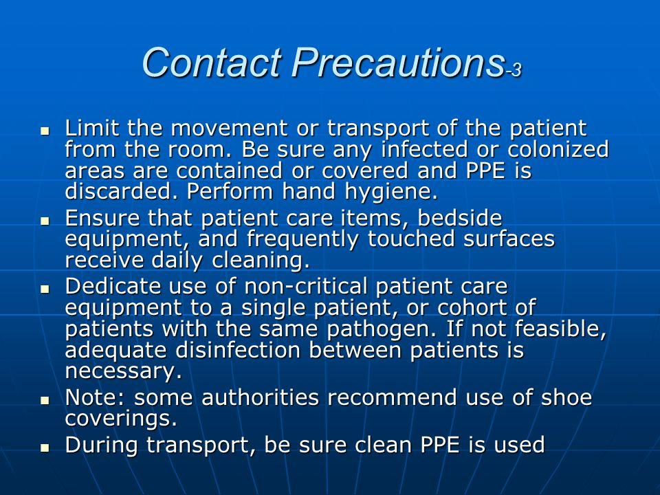 Contact Precautions-3
